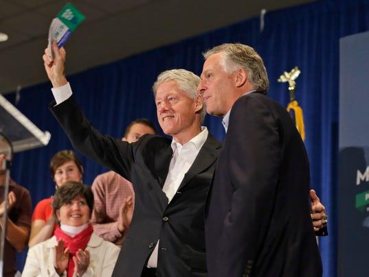 AP Virginia Governor Race