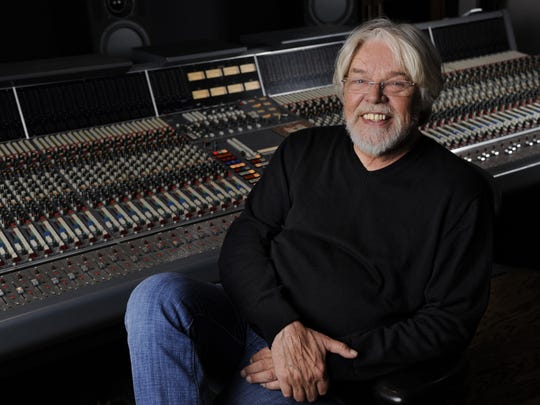Singer Bob Seger poses for a portrait in a Capitol Records studio on Thursday, Oct. 16, 2014, in Los Angeles.
