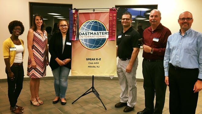 Speak E-Z Toastmasters of Millville recently installed new officers for the 2018-2019 year.