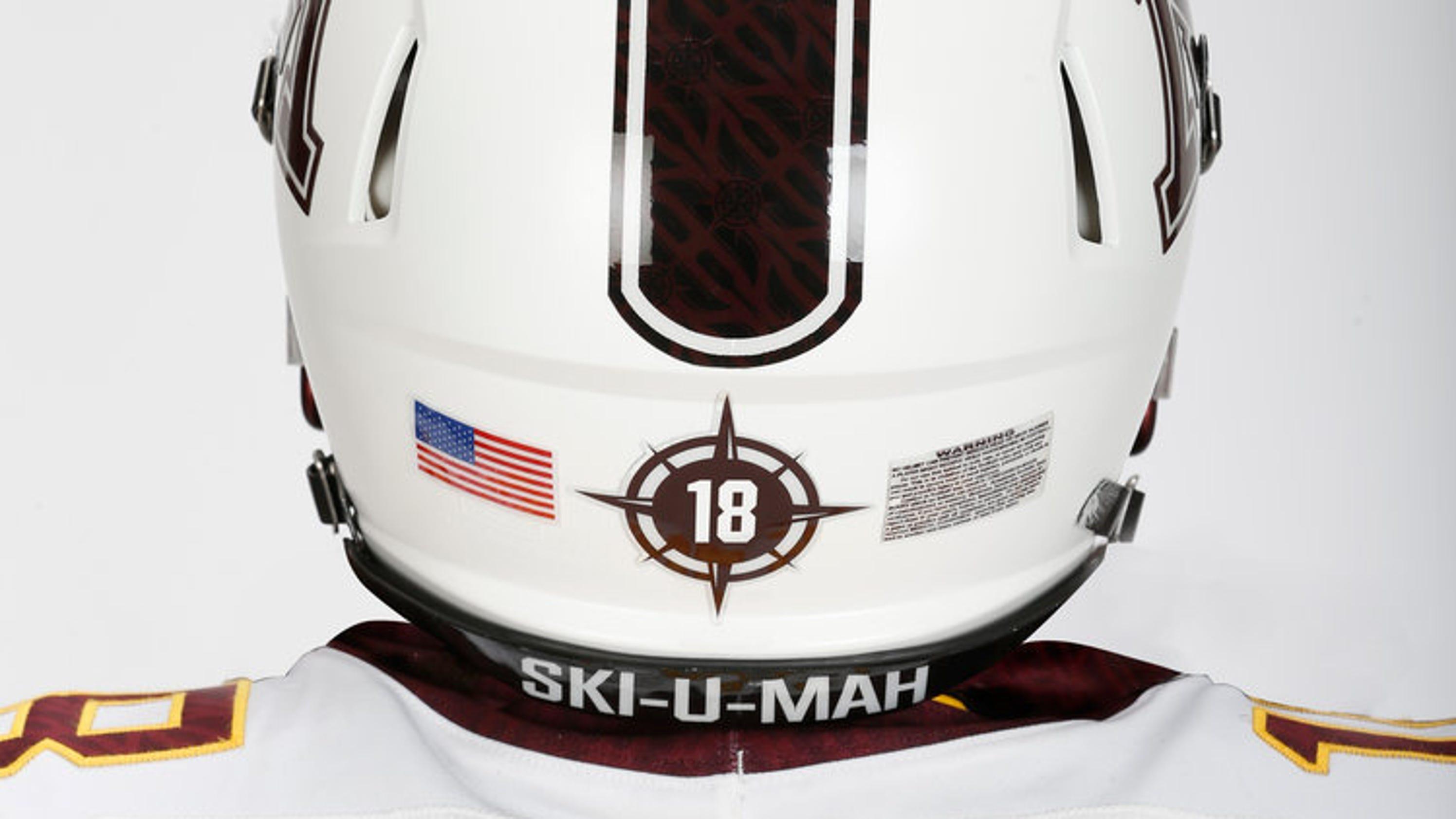 White-back-of-helmet