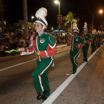 EDISON PARADE: 80th birthday celebration featured motorcycles, bands and a TV celebrity