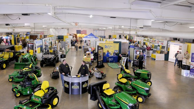 The Mid Ohio Home Show at the Richland County Fairgrounds in 2014.