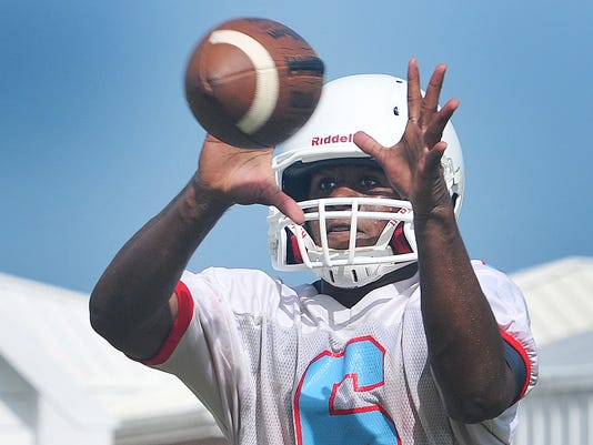 ROCKLEDGE HIGH FOOTBALL PRACTICE