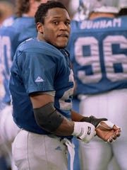 Lions great Barry Sanders