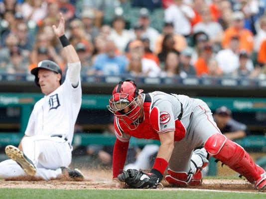 MLB: Cincinnati Reds at Detroit Tigers