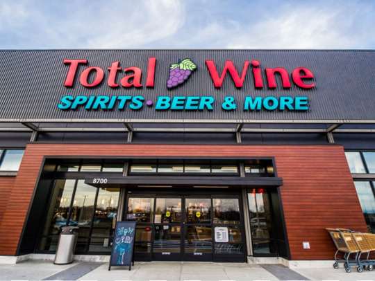 Total Wine & More recently opened in the 84South development,