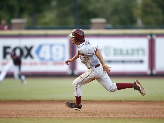 Speedy Florida State junior center fielder Ben DeLuzio returns to anchor the outfield this season.