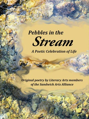 """A book launch for """"Pebbles in the Stream"""" is being held from 1 to 4 p.m. Sunday outside the Sandwich Arts Alliance Center."""