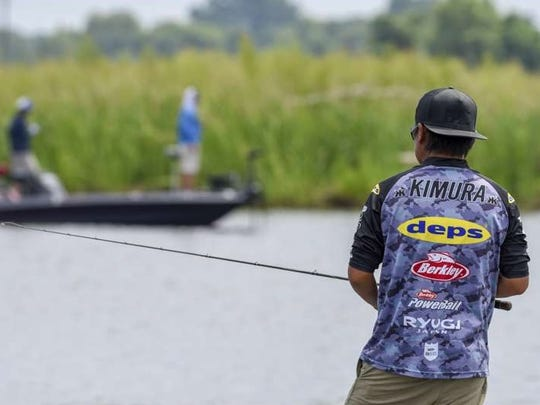 Japan's Kenta Kimura is the day one leader in the Bass