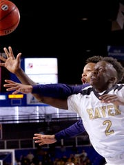 Kavion McClain scored 10 points in Whitehaven's semifinal victory Friday.