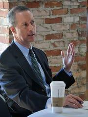 U.S. Congressman Mac Thornberry speaks during meeting
