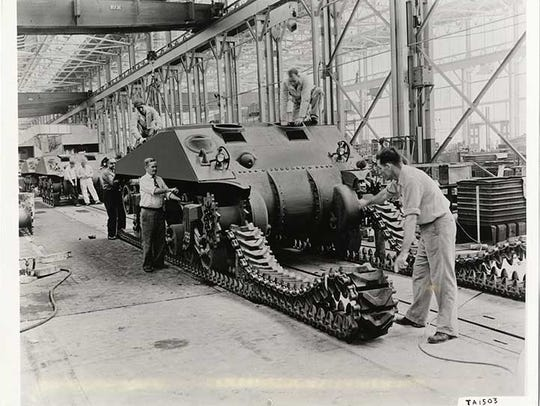 The Detroit Arsenal Tank Plant required extensive open