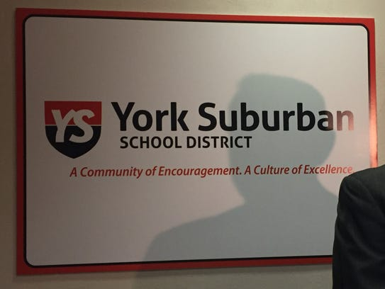 The York Suburban School District.