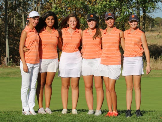 The Northville girls golf team placed fourth in the