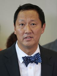 University of Cincinnati president Santa Ono speaks