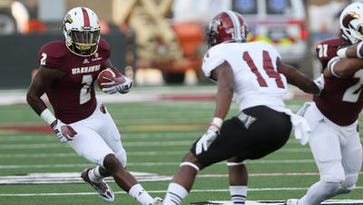 Ceaser ended his college career as one of the most prolific wide receivers in ULM history and his no. 3 all-time in receptions and fourth in receiving yards.