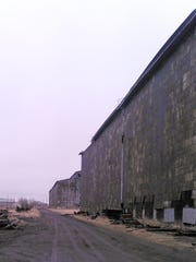 The Globe grain elevator in Superior once employed
