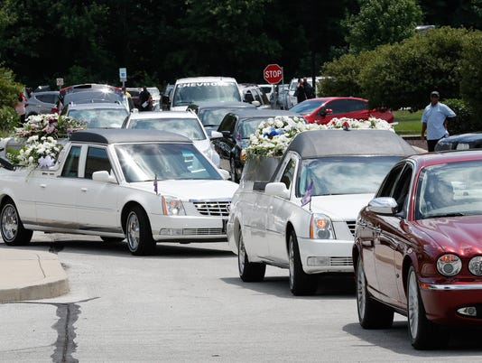 Funeral services for five members of the Coleman family who died in duck boat accident in Missouri.