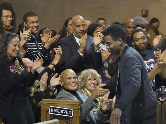 Harry Belafonte, Chris Rock