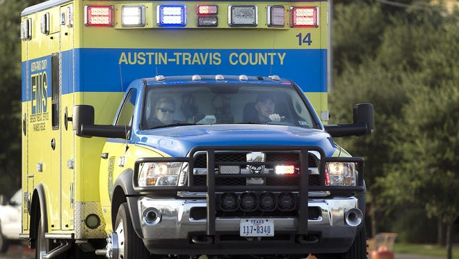 Austin-Travis County EMS officials on Friday said medics rescued a person from a storm drain in South Austin.