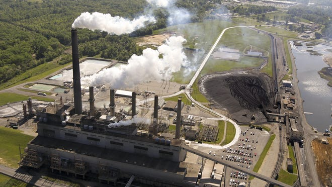 LG&E's Cane Run plant is scheduled to shut down next year, replaced by cleaner burning natural gas.