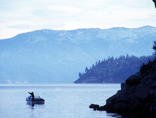 tahoe fisherman