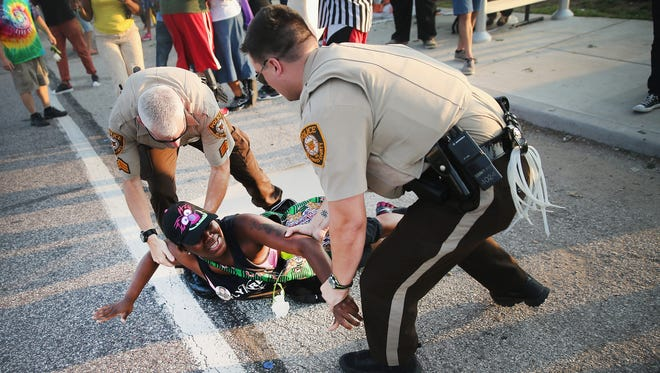 A Justice Department investigation looked into the law enforcement practices of the Ferguson, Mo., Police Department.