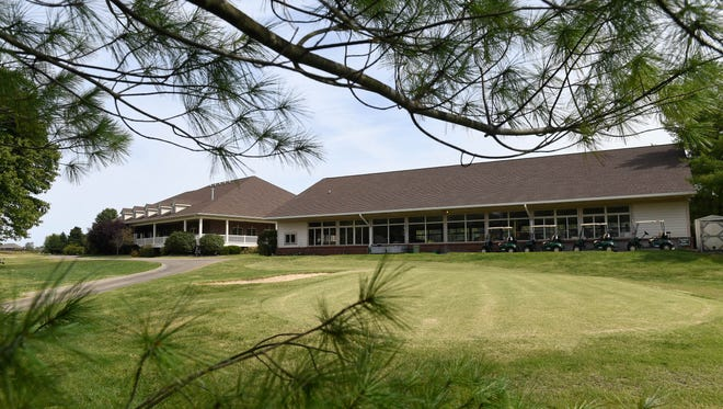 The clubhouse and cart storage area at Quail Crossing Golf Course- Boonville announced the purchase of the golf course.