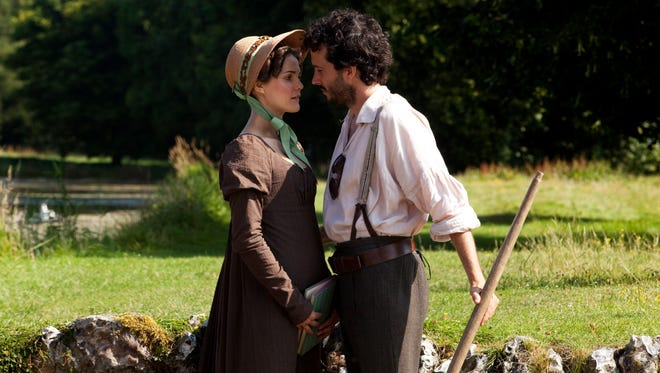 "Keri Russell, left, and Bret McKenzie, in a scene from the film, ""Austenland,"" included in the U.S. Dramatic Film competition at the 2013 Sundance Film Festival. Author Jane Austen's books and other fine literature help sharpen people skills, research suggests."