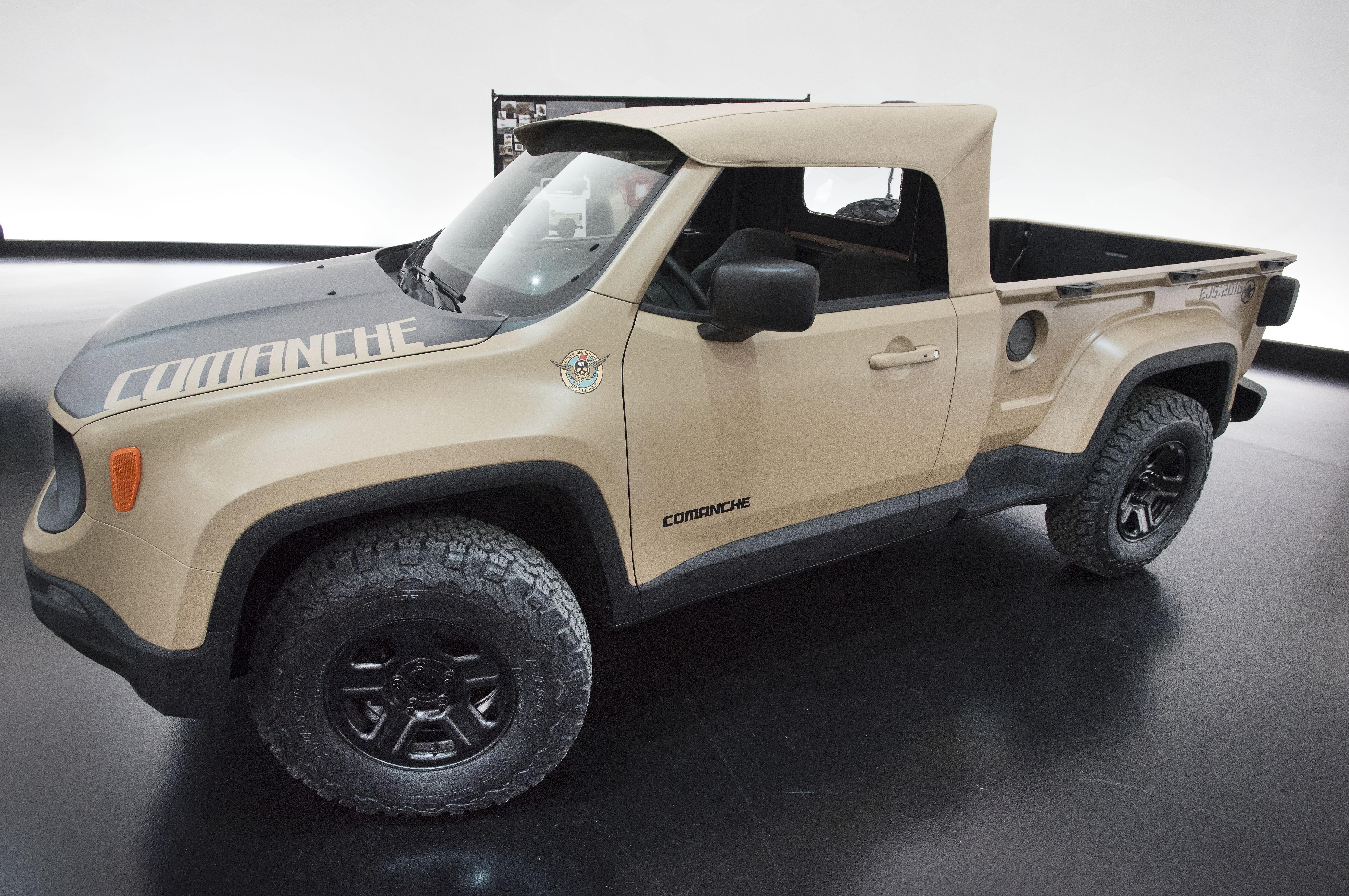 Jeep comanche release date