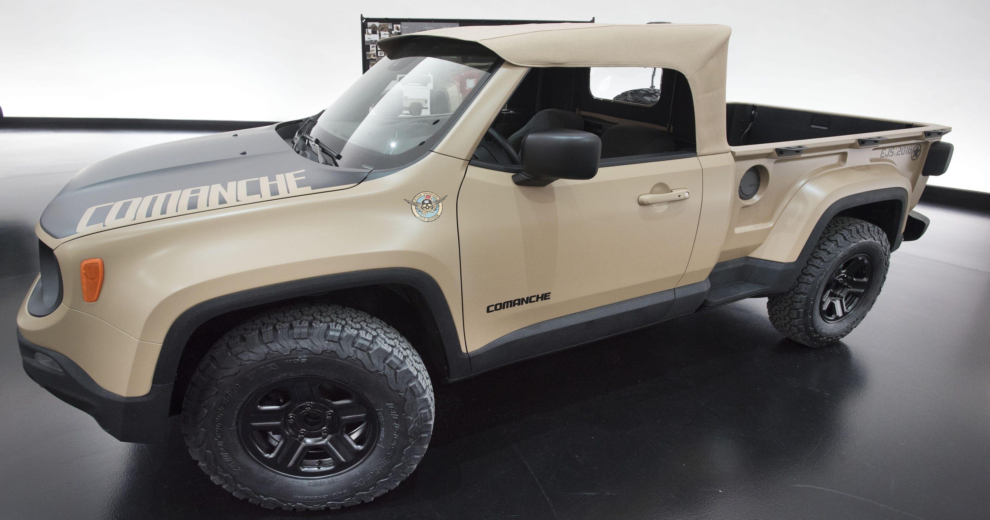 Jeep Wrangler Pickup >> New Jeep Wrangler Pickup Coming In Late 2019