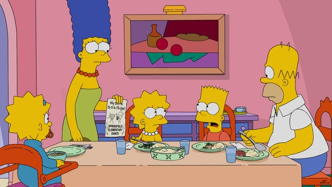 """More family dinners are in the offing as Fox Monday announced a two-season renewal of """"The Simpsons."""""""