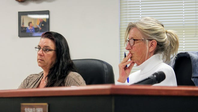 County Commissioners approved the issuance and sale of the county's Hold Harmless gross receipts tax revenue bonds for the the purpose of expanding the Otero County Detention Center at a public hearing Tuesday evening.
