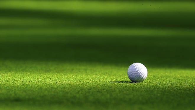 High school boys golf.