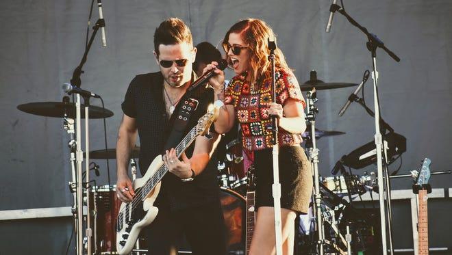 Cassadee Pope was this year's headliner at Holloman's Summer Music Festival Thursday, June 29.