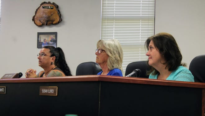 Otero County Commissioners discussed the road situation in Timberon at their July 13 regular county commission meeting.