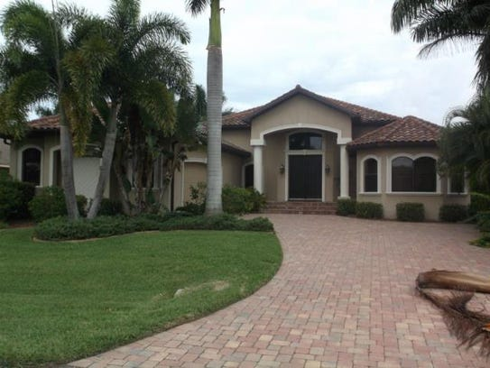 This home at 5606 Coronado Court, Cape Coral, recently