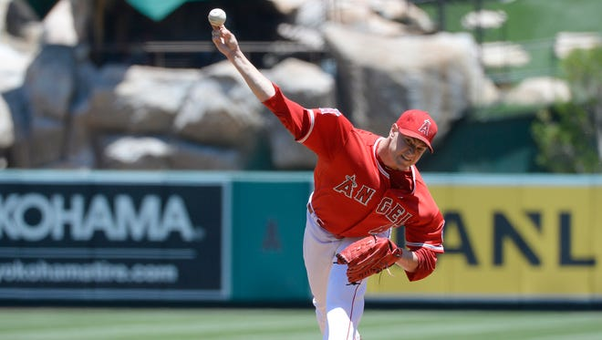Garrett Richards has been the best pitcher on a resurgent Los Angeles Angels team.