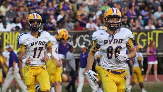 Haughton High School host Byrd High School for Friday night football.