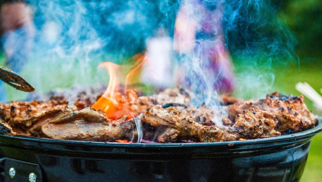 Chicken on the grill is a summer staple.