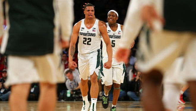 Michigan State's Miles Bridges and Cassius Winston will likely be the catalysts if the Spartans are to put together an NCAA tournament run.