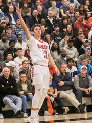 Northeastern freshman Nate Wilson will be one of three