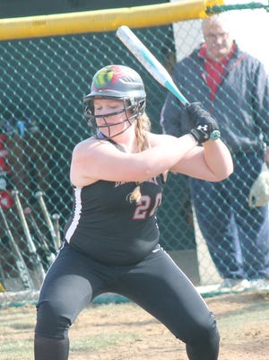 Senior first baseman Lacey Chadwell is Deer Park's career home run leader.