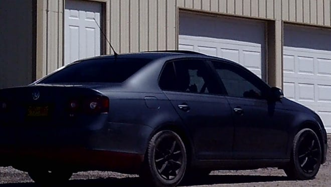 Las Cruces Crime Stoppers is offering a reward of up to $1,000 for information that helps identify the occupants of a Volkswagen that was known to be in the area where two crimes and a high-speed pursuit were committed between April 21 and April 25, 2017.