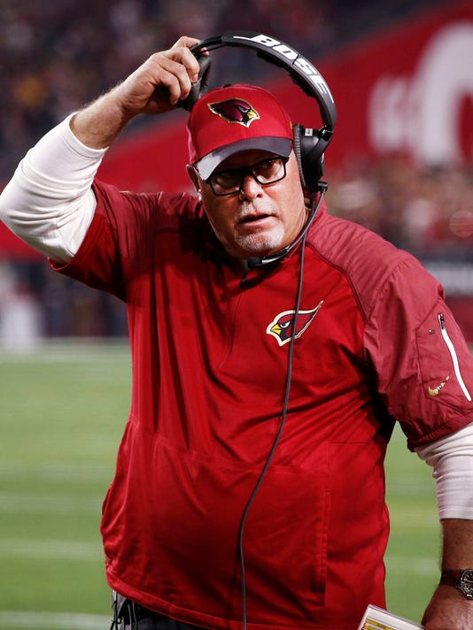 Cardinals coach Bruce Arians