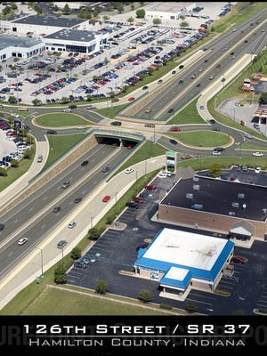 The traffic signal at 126th Street and Ind.37 could be replaced with a roundabout.