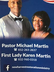 The New Harvest Restoration Ministry is based in Texas