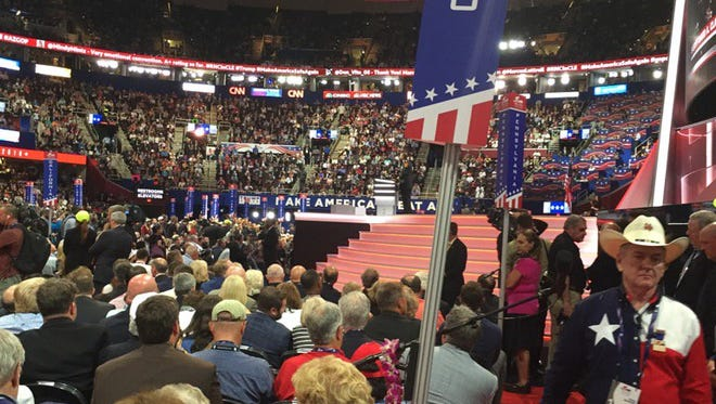 Much ado has been made about Ohio's less-than-optimal seats at the Republican National Convention.