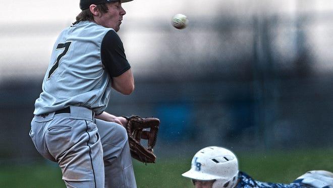 Varsity Baseball: Burlington Township at Northern Burlington