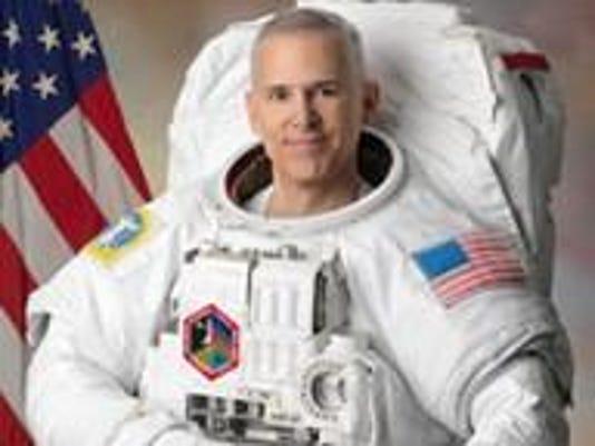 Astronaut Lee Morin